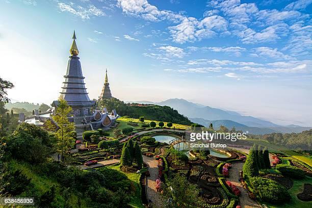 Viewpoint Doi Inthanon at Chiang Mai,Thailand
