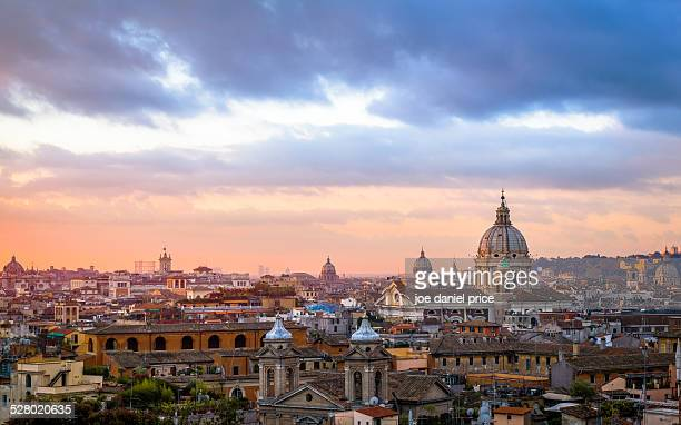 Viewpoint from Piazza del Popolo, Rome, Italy