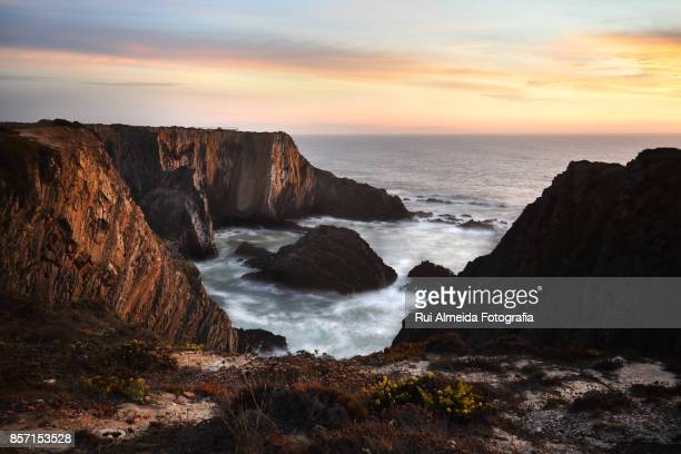 Viewpoint of Cabo Sardão over Atlantic Ocean