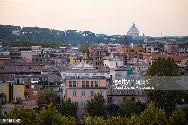Viewpoint Over Rome, Italy