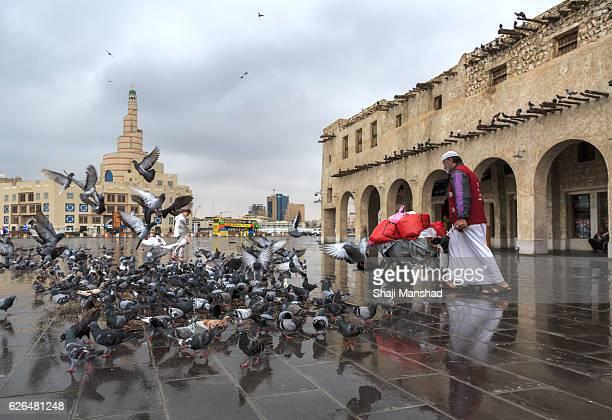 Views from a Qatar market /Souq Waqif