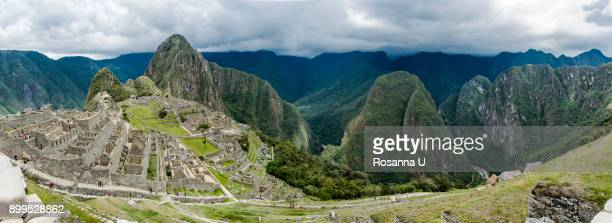 Views from the hike up Machu Picchu Mountain, Cusco, Peru, South America