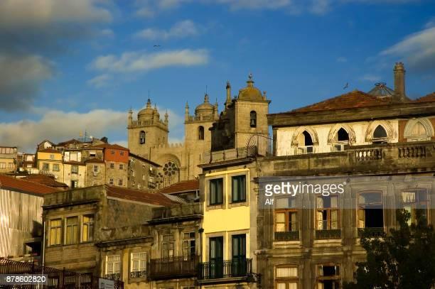 Views from the Mirador da Vitoria in Porto, Portugal