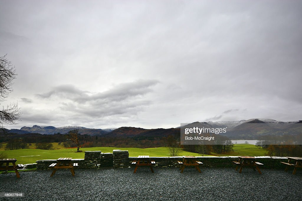 Views from Wray Castle : Stock Photo