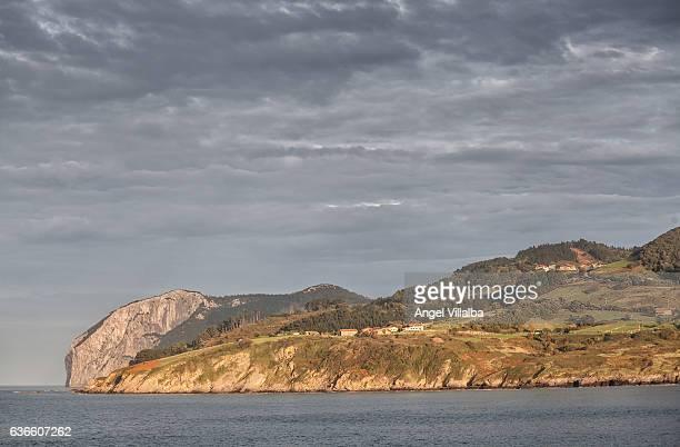 Views of Cape Ogoño from the promontory of Santa Catalina in Mundaka