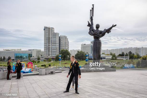 Views of central Minsk on September 17 2019 Recent months have brought signs of warming relations between Western countries and Belarus a former...