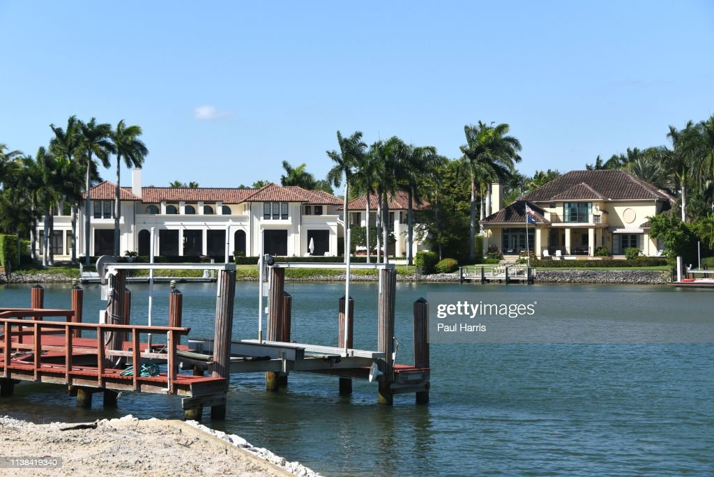 Views of multi million dollar homes March 21, 2019 in Naples