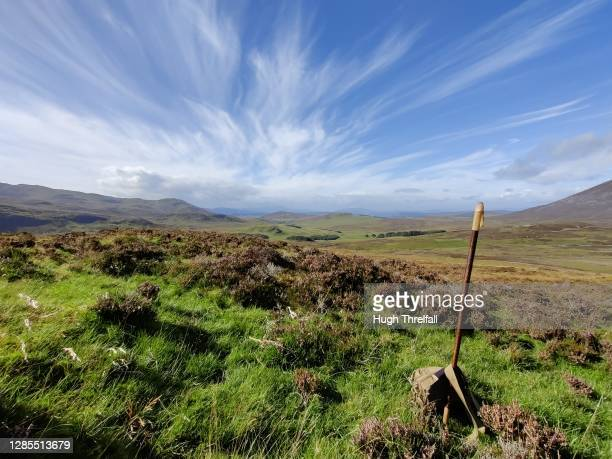 views of perthshire, scotland. - hugh threlfall stock pictures, royalty-free photos & images