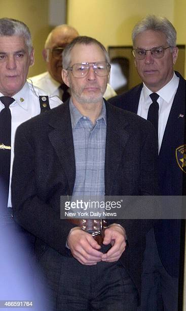 Views of Robert Durst who is wanted in Galveston Texas for the killing of a woman friend and for the missing of his New York wife as he comes and...