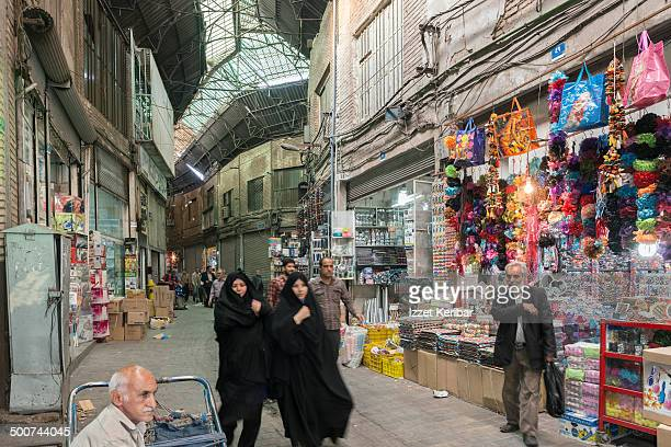 Views of Tehran Grand Bazaar, Iran