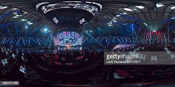 360 Views Of The 2016 MTV Video Music Awards at Madison Square Garden on August 25 2016 in New York City