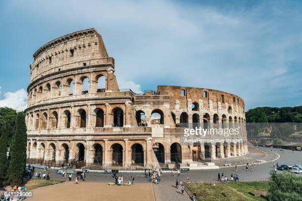 Views Of The Colosseum, Rome, Italy