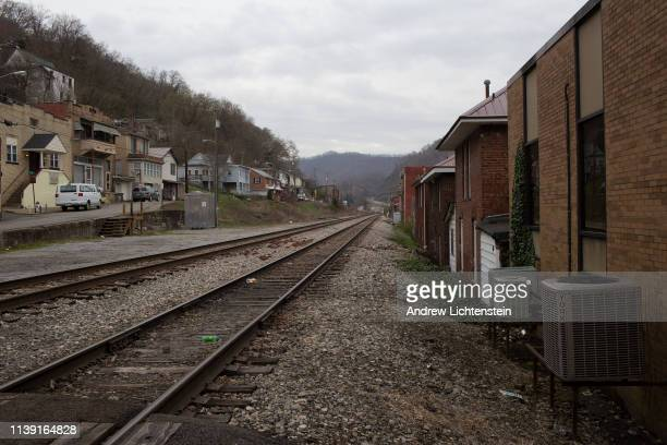 Views of the downtown Logan on March 26 2019 in Logan West Virginia The town like most in this area of Appalachia was built from the coal industry...