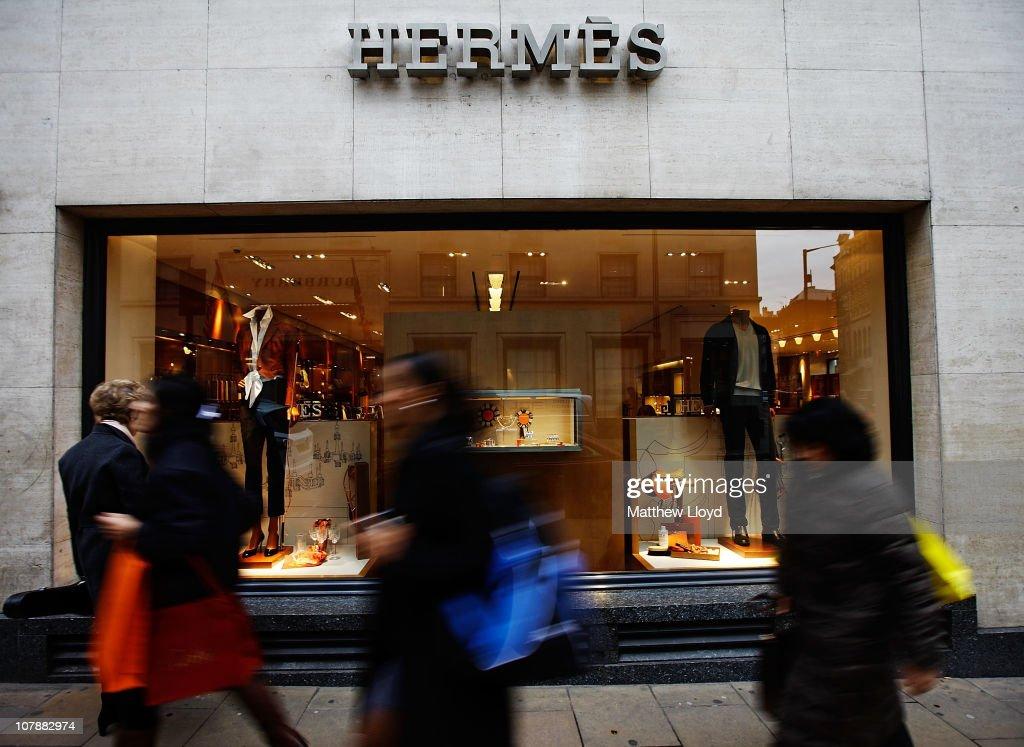 Hermes Luxury Goods Shop : News Photo