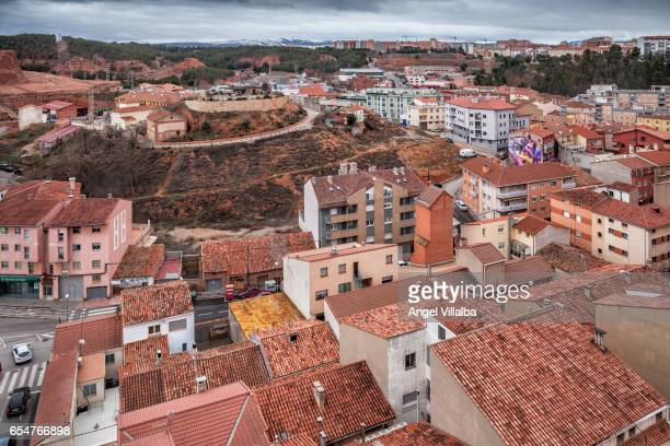 Views south of the houses and surroundings of Teruel