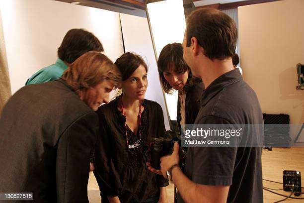 Viggo Mortensen Agustin Diaz director Elena Anaya Ariadna Gil and Photographer Jeff Vespa