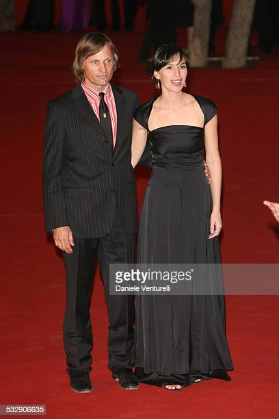 Viggo Mortensen and Ariadna Gil during 1st Annual Rome Film Festival Alatriste Premiere at Auditorium Parco della Musica in Rome Italy
