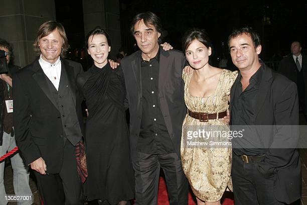 Viggo Mortensen Ariadna Gil Agustin Diaz director and Elena Anaya