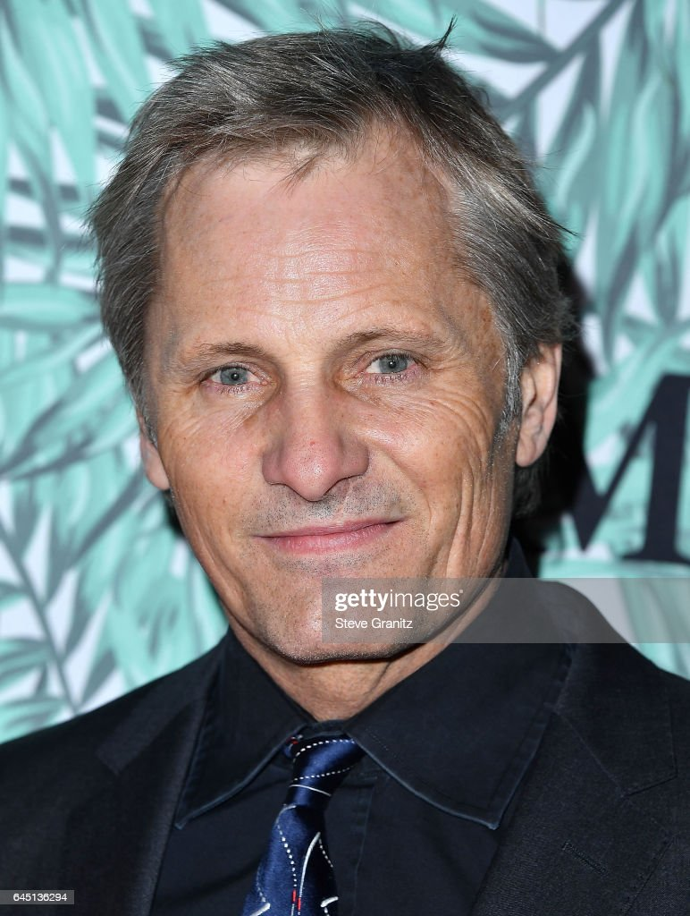 Viggo Mortensen arrives at the 10th Annual Women In Film Pre-Oscar Cocktail Party at Nightingale Plaza on February 24, 2017 in Los Angeles, California.