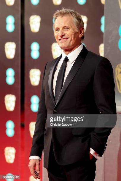 Viggo Mortensen at the British Academy Film Awards 2017 at The Royal Albert Hall on February 12 2017 in London England