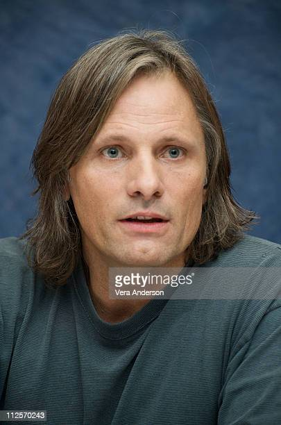 """Viggo Mortensen at """"The Road"""" press conference at Beverly Hills Hotel on November 7, 2009 in Beverly Hills, California."""