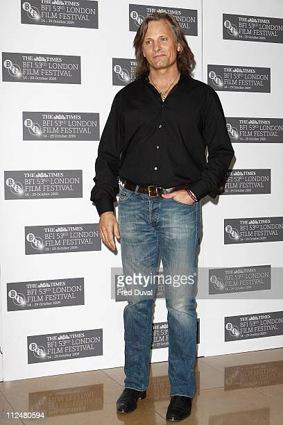 Viggo Mortensen attends photocall for 'The Road' during The Times BFI London Film Festival at May Fair Hotel on October 16, 2009 in London, England.