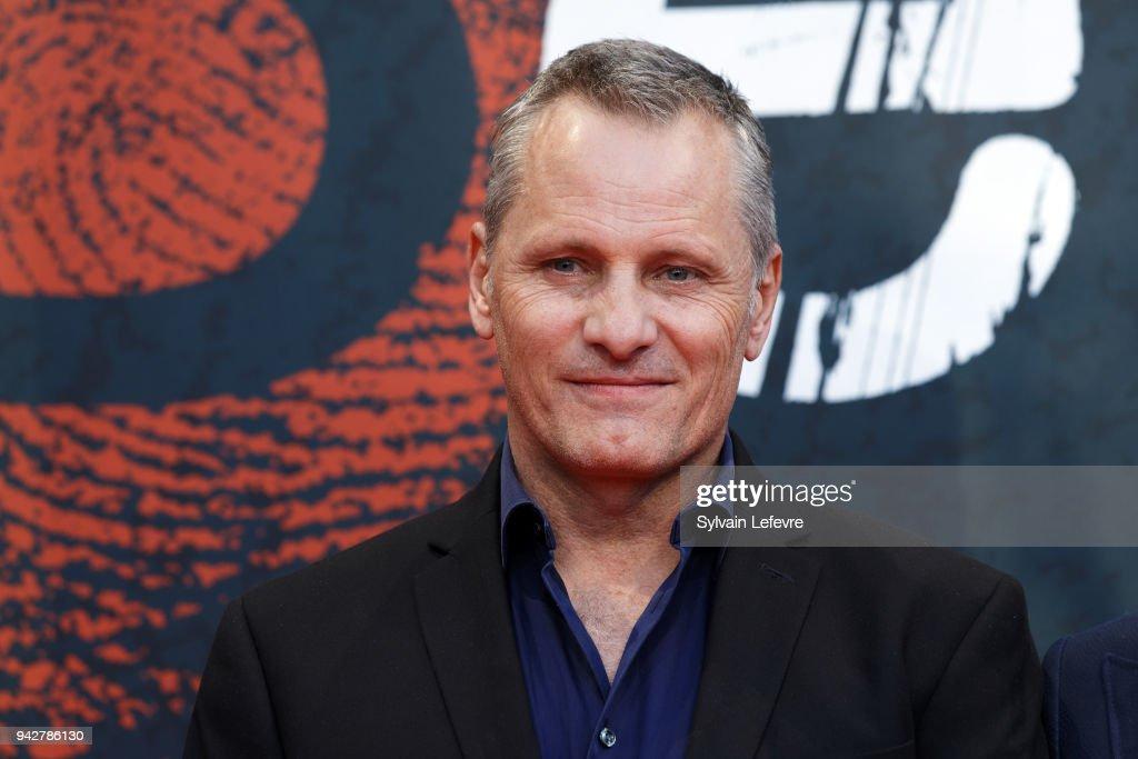 Viggo Mortensen attends photocall of 'Tribute to David Cronenberg' during 10th Beaune International Thriller Film Festival on April 6, 2018 in Beaune, France.