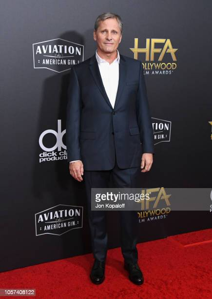 Viggo Mortensen attends the 22nd Annual Hollywood Film Awards at The Beverly Hilton Hotel on November 4 2018 in Beverly Hills California