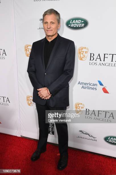 Viggo Mortensen attends The BAFTA Los Angeles Tea Party at Four Seasons Hotel Los Angeles at Beverly Hills on January 05 2019 in Los Angeles...