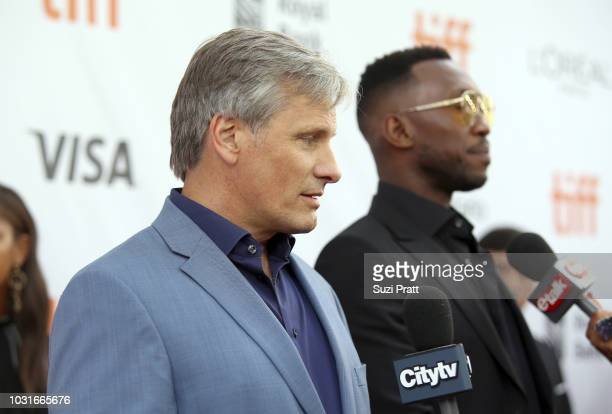 Viggo Mortensen attends the 'Green Book' premiere during 2018 Toronto International Film Festival at Roy Thomson Hall on September 11 2018 in Toronto...