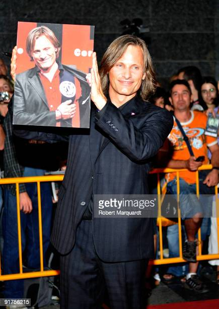Viggo Mortensen attends the premiere of 'The Road' at the 42nd Sitges Film Festival on October 11, 2009 in Barcelona, Spain.