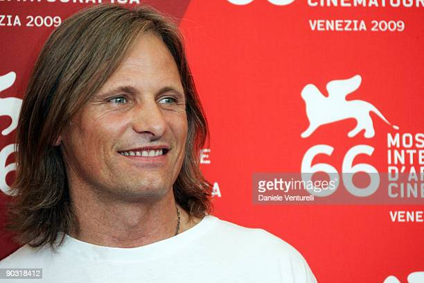 """Viggo Mortensen attends """"The Road"""" Photocall at the Palazzo del Casino during the 66th Venice International Film Festival on September 3, 2009 in..."""