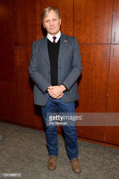 Viggo Mortensen attends UTA Independent Film Group and Hanway host a Private Screening of Falling with Viggo Mortensen and Lance Henricksen during...