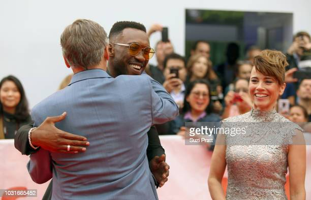 Viggo Mortensen Mahershala Ali and Linda Cardellini attend the 'Green Book' premiere during 2018 Toronto International Film Festival at Roy Thomson...