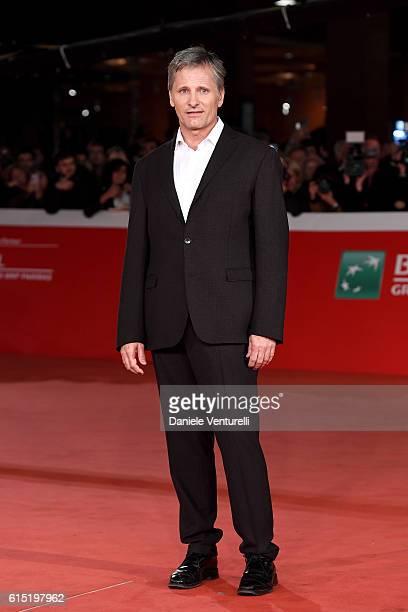 Viggo Mortensen walks a red carpet for 'Captain Fantastic' during the 11th Rome Film Festival at Auditorium Parco Della Musica on October 17 2016 in...