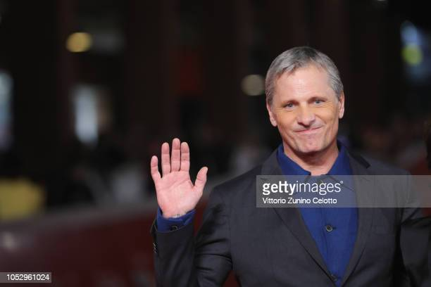 Viggo Mortensen walks the red carpet ahead of the Green Book screening during the 13th Rome Film Fest at Auditorium Parco Della Musica on October 24...