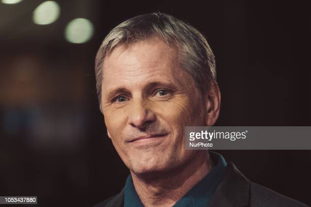 Viggo Mortensen walks the red carpet ahead of the 'Green Book' screening during the 13th Rome Film Fest at Auditorium Parco Della Musica on October...