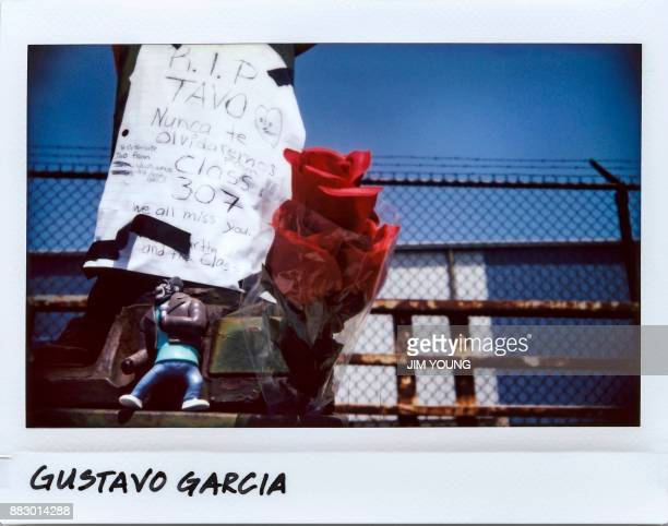 A vigil for Gustavo Garcia 10yearold on the overpass at East 95th and Avenue N in Chicago Illinois on July 19 2017 Garcia was fatally shot in the...