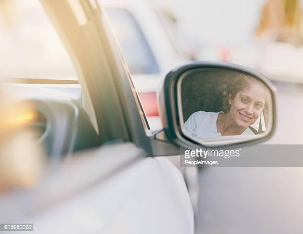 Vigilance keeps her safe on the road
