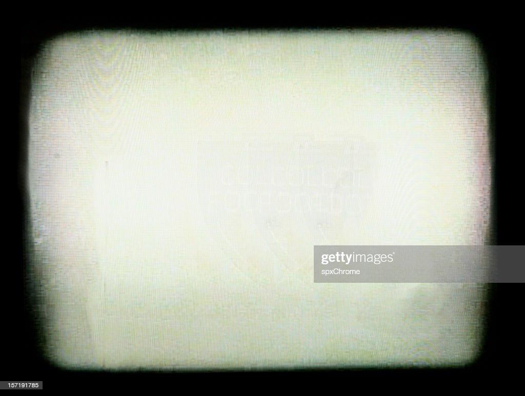 TV Vignette Border : Stock Photo