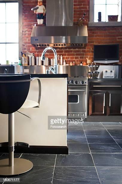 Vignette of modern kitchen