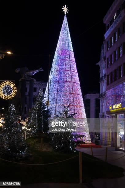 Vigo's Christmas tree 2017