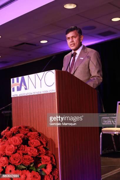 Vijay Dandapani during the Hotel Association of New York City hosts 'The Red Carpet Hospitality Gala' HANYC's Annual Dinner/Dance at Sheraton New...