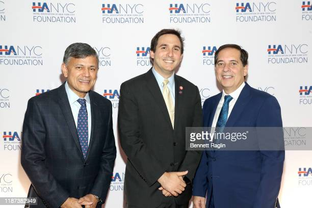 Vijay Dandapani New York City Council Member Ben Kallos and Fred Grapstein attend The Red Carpet Hospitality Gala Hosted by the Hotel Association Of...