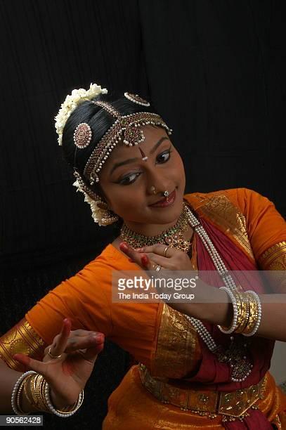 Vijna Rani Vasudevan Bharata Natyam Dancer in Chennai Tamil Nadu India