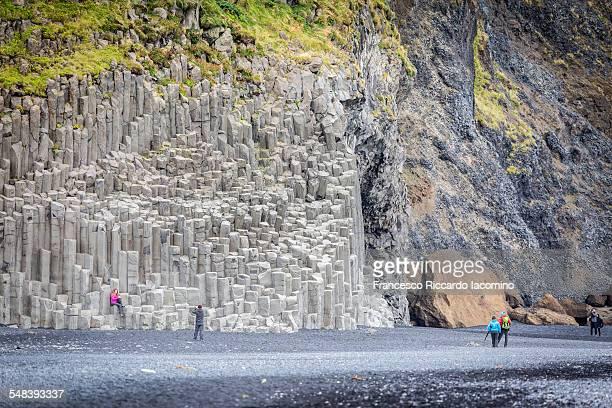 Vik beach, basalt columns, Iceland