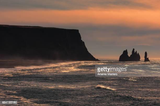 Vik coast in Iceland