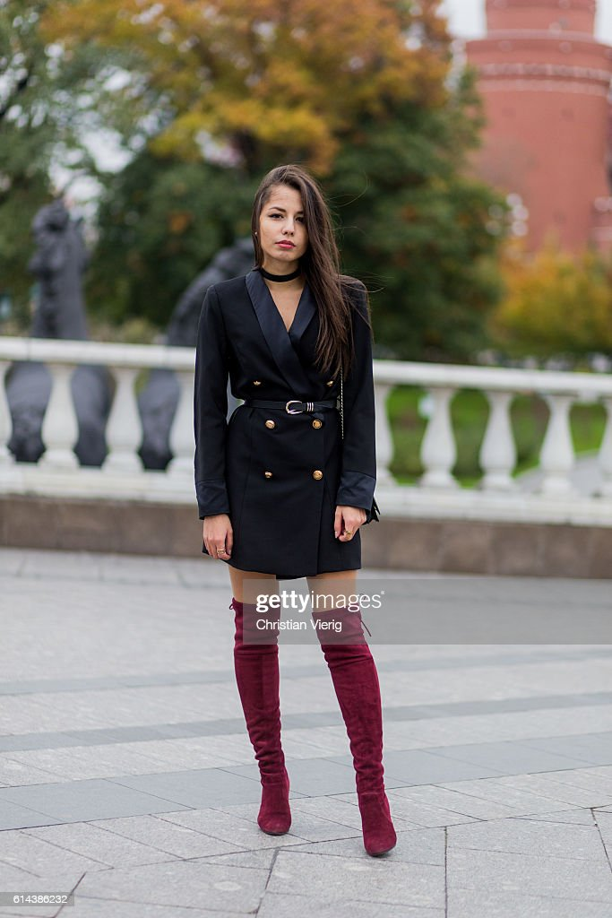 Street Style Day 1 - Mercedes-Benz Fashion Week Russia : News Photo