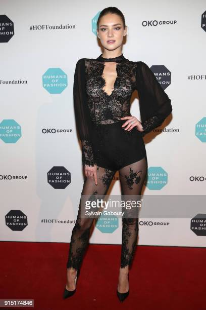 Vika Levina attends Humans of Fashion Foundation joins the conversation to end sexual harassment and assault in the industry at Cipriani 25 Broadway...