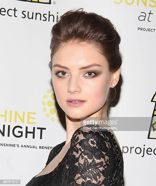 Vika Levina attends the 11th Annual Project Sunshine Benefit Celebration at The Waldorf Astoria on April 29 2014 in New York City